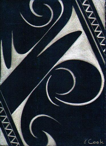 """Basilicata #1,  silverpoint, 7.5 x 5.5"""", artist Jeannine Cook"""