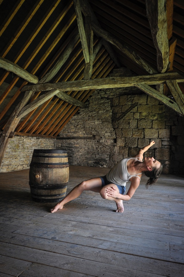 Sacha Copeland, Artist Director, Java Dance Company, New Zealand (photograph courtesy of  Emma Hellowell )