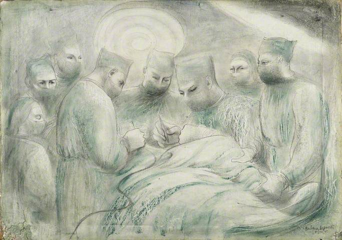 Theatre Group III, Barbara hepworth, (Image courtesy of Manchester City Galleries)
