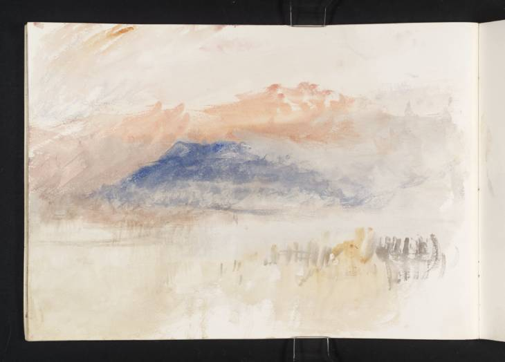 The Blue Rigi, 1844, watercolour, Joseph Mallord William Turner, 1775-1851, (Image courtesy of Tate Britain)