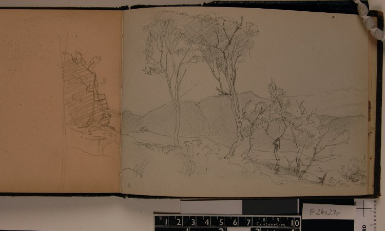 Sketchbook, (image courtesy of the British Museum)