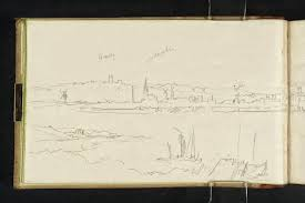 Joseph Mallard William Turner, 1831 sketch. (Image courtesy of Tate Britain)