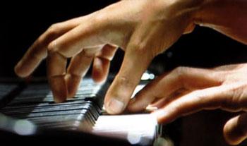 Pianist Rebecca Davis