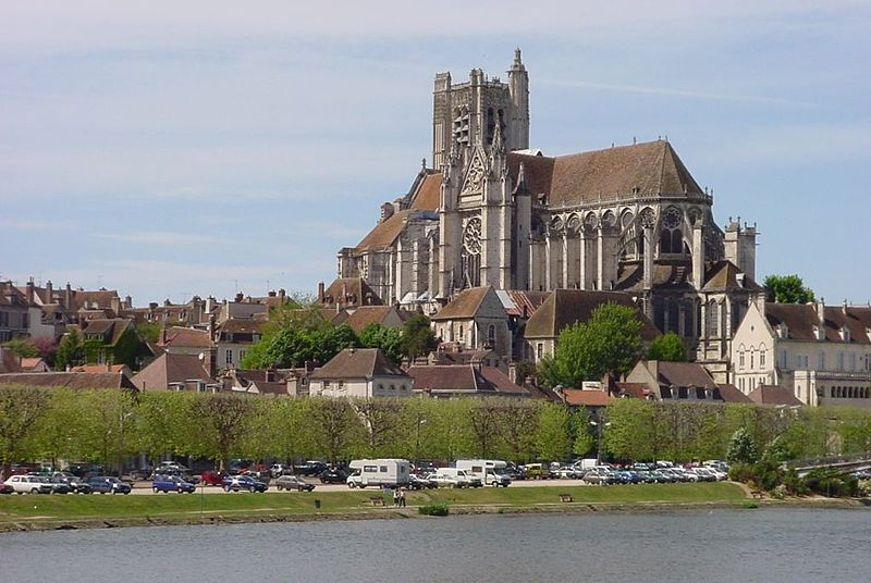 Cathedral of St. Etienne, Auxerre
