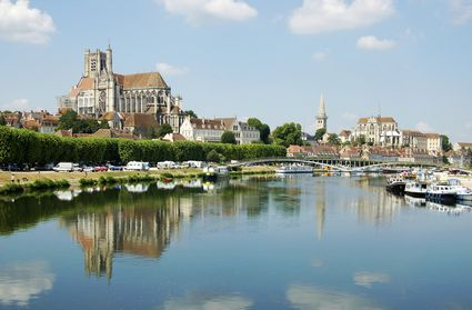 Auxerre, from the River Yonne