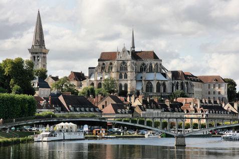 St. Germain Abbey, Auxerre, Burgundy