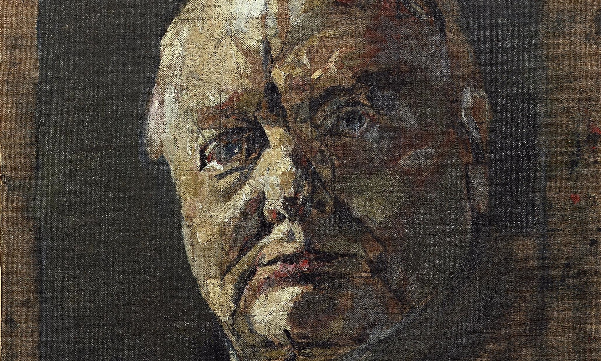Graham Sutherland portrait of Winston Churchill. National Portrait Gallery London