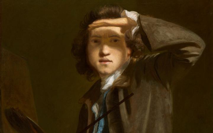 Self portrait by Sir Joshua Reynolds, 1747-1749, National Portrait Gallery,London