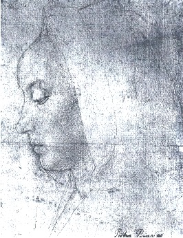 Profile of a Young woman, Jean Hey, Maitre de Moulin, c. 1480, image courtesy of the Louvre, Paris