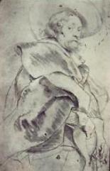 Self Portrait, Peter Paul Reubens, image courtesy of the Louvre, Paris