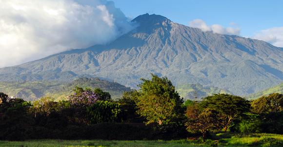Mt. Meru, N.Tanzania