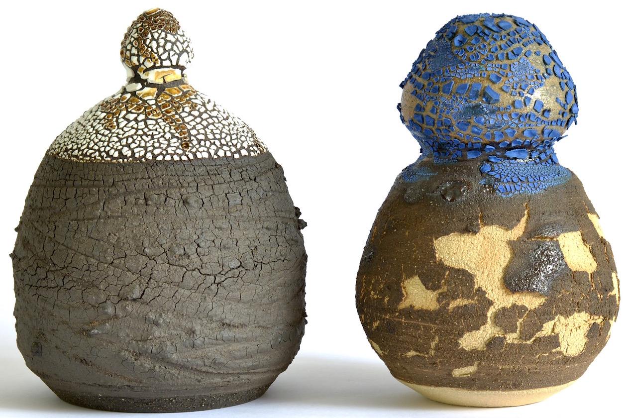 King Houndekpinkou. ceramic vessels (image courtesy of the artist)