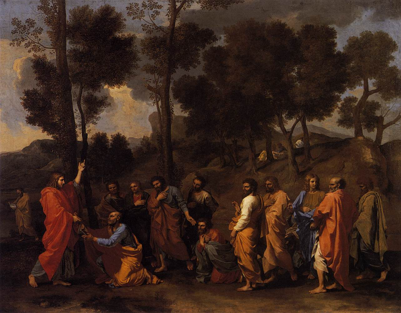 Ordination,1636-40, Nicolas Poussin, (Image courtesy of Kinball art Museum, Fort Worth, Texas)