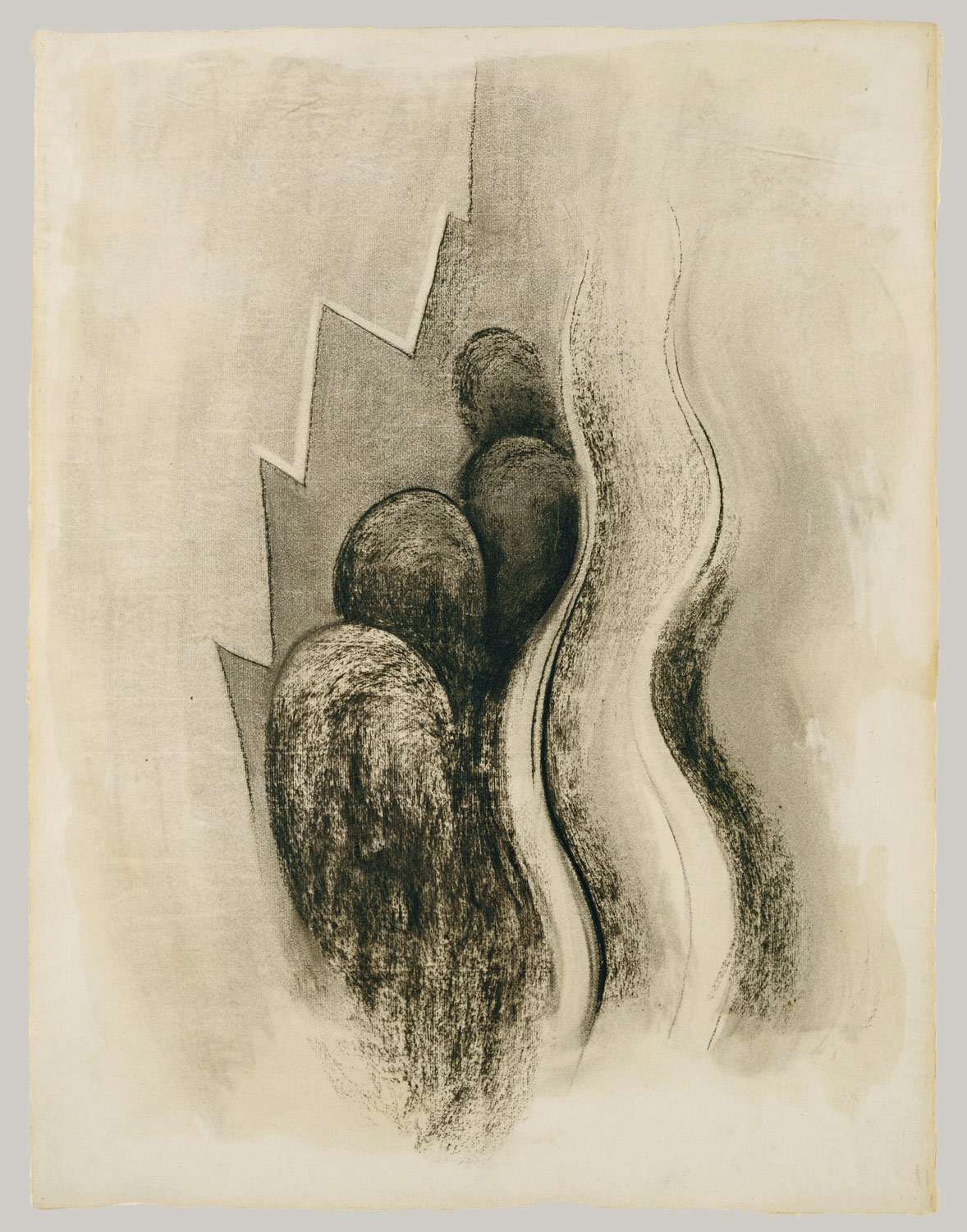 Drawing no. 13, 1915, charcoal (image courtesy of the Metropolitan Museum, New York)