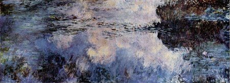 Water Lilies, Claude Monet. Lost in 1958 fire at MOMA, New Yorl