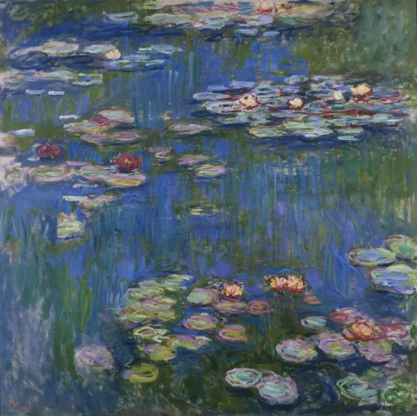 Water Lilies,1916, Claude Monet. (Image courtesy of National Museum of Western Art, Tokyo)