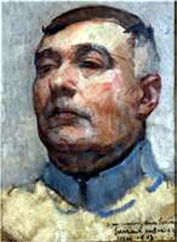 Guirand de Scévola, Self Portrait, 1917