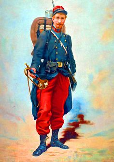 A French infantryman, 1914