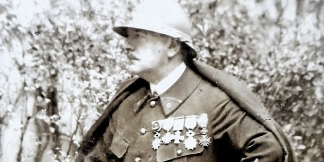 Lucien-Victor Guirand de Scévola, at the end of World War I