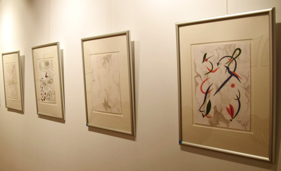Another view of the exhibition, (Image courtesy of Martin Adam, photographer)