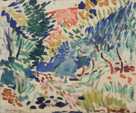Landscape at Collioure, 1905, Henri Matisse, .oil on canvas, MOMA, New York