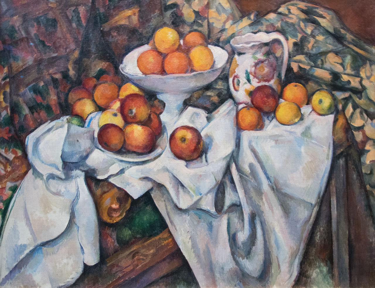 Apples and Oranges , Paul Cezanne, c. 1899, (Image courtesy of Musee d'Orsay)