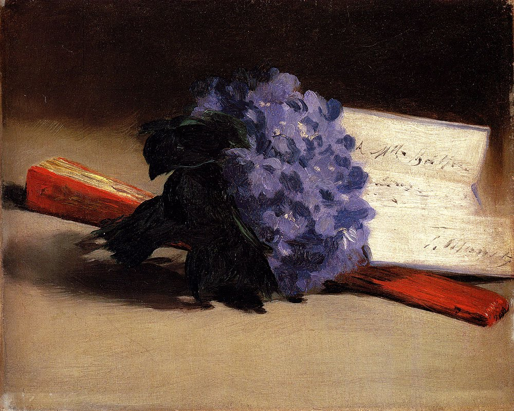Bouquet de violettes,  Edouard Manet, 1872, Private Collection