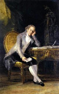 Francisco de Goya (1746-1828) Portrait of Gaspar Melchor de Jovellanos, oil on canvas. Image courtesy of the Prado Museum, Madrid