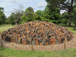 Cork Dome , 2012, David Nash at Kew Gardens