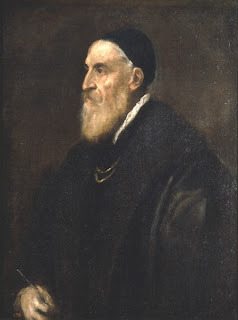 Self-Portrait,  Titian, 1562. Image courtesy of the Prado Museum, Madrid