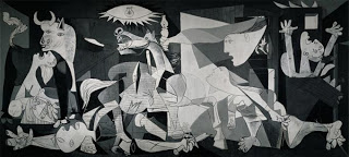 Guernica,  Pablo Picasso, 1937.  Image courtesy of the Reina Sofia Museum, Madrid