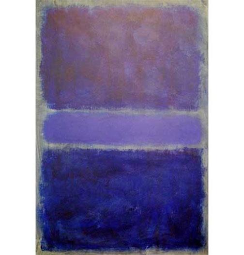 Purple and Blue , Mark Rothko