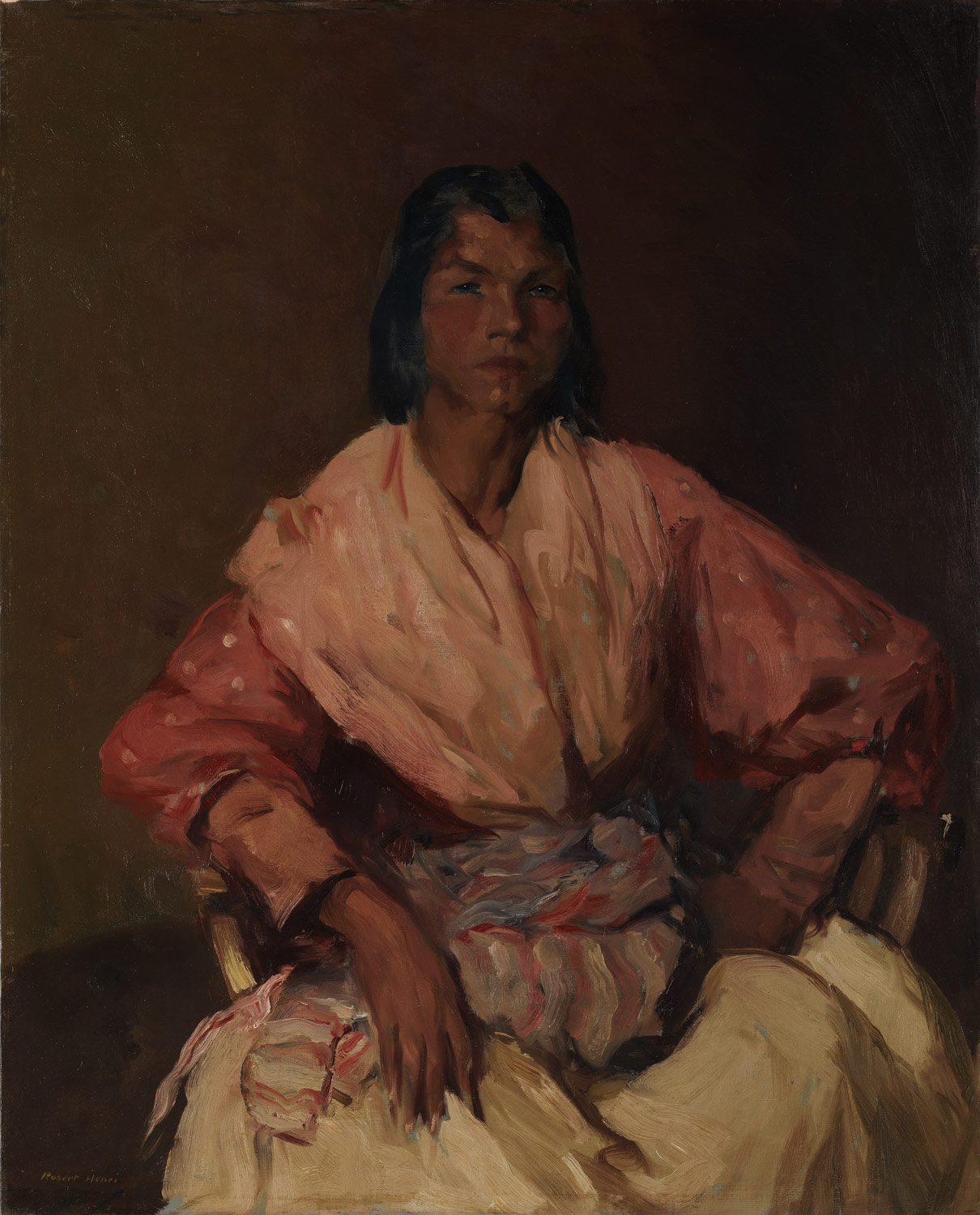 The Spanish Gypsy , 1912, Robert Henri (American, 1865–1929) (Image courtesy of the Metropolitan Museum of Art)