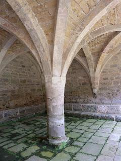 Chapter House, Abbaye de Beaulieu (artist's photograph)