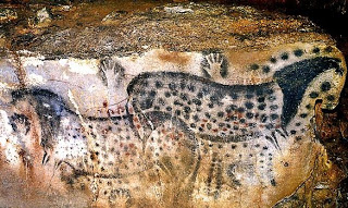 Dotted Horse Panel, Pech-Merle Cave