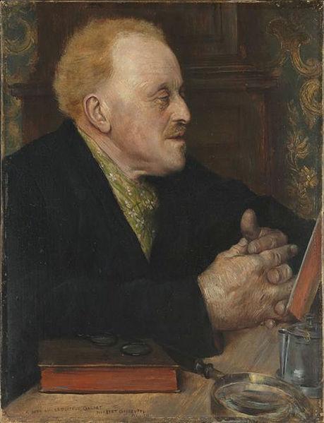 Le Docteur Paul Gachet, 1891, Norbert Gœneutte, (Image courtesy of the Musee d'Orsay)