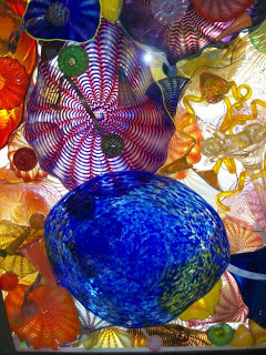 Dale Chihuly, Seaform Detail, Tacoma