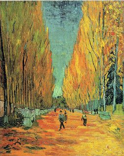 Alychamps , Vincent Van Gogh, 1888, oil on canvas, Private collection