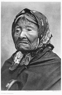 Princess Angeline (Kikisoblu), ca. 1895  , Photo by Edward S. Curtis, Courtesy UW Special Collections