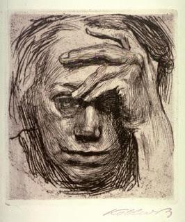 K. Kollwitz, Self Portrait