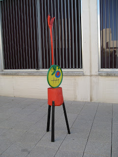 Miro - sculpture, image courtesy of Jeff Epler