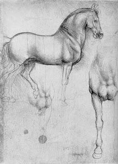 Leonardo da Vinci - Studies of Horses