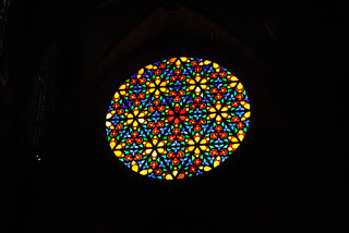 Rose Window, Cathedral, Palma de Mallorca