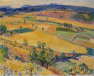 Paysage du Luberon,  Frederick Gore, (image courtesy of Charlotte Bowskill Fine Art)