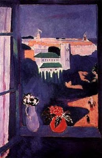 The Winndow atTanger,  Henri Matisse, 1912, (Image courtesy of the Pushkin Museum of Fine Arts, Moscow.)