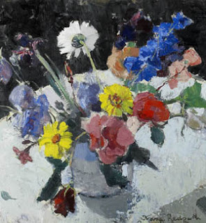 Flowers on a White Table,  Anne Redpath (Image courtesy of Portland Gallery)