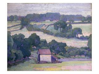 Near Applehayes,  Robert Bevan
