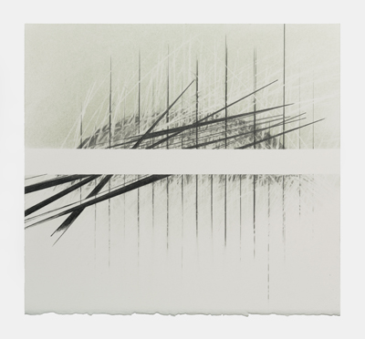 THE LINES OF TIME -20, Pastel / graphite / crayon , Ann Christopher (courtesy of the Artist)