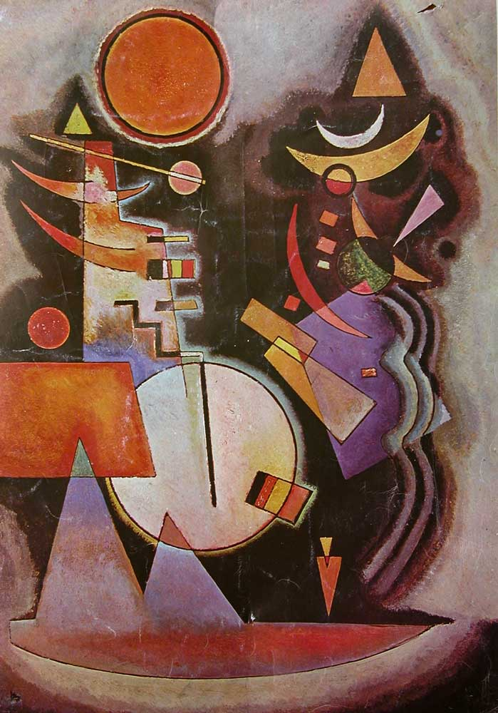 The Clown, Wassily Kandinsky