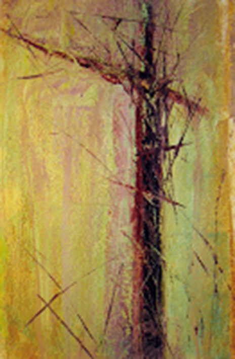 Coastal Meditation, monoprint, Daniel E. Smith artist (image courtesy of the artist)